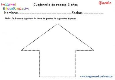 Cuadernillo complementario para 3 años, Educación Preescolar  (24)
