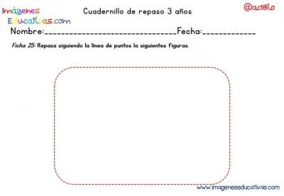Cuadernillo complementario para 3 años, Educación Preescolar  (25)
