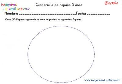 Cuadernillo complementario para 3 años, Educación Preescolar  (30)