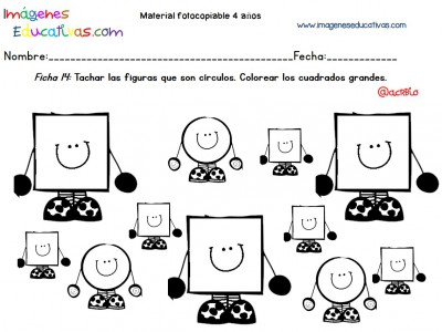Cuadernillo complementario para 4 años, Educación Preescolar (14)