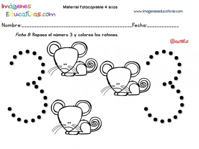 Cuadernillo complementario para 4 años, Educación Preescolar (8)