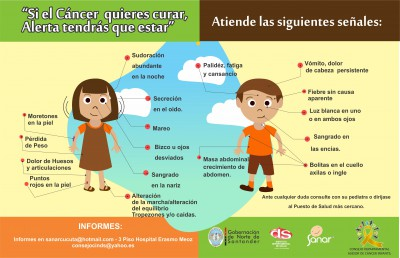 DIA INTERNACIONAL DEL CANCER INFANTIL