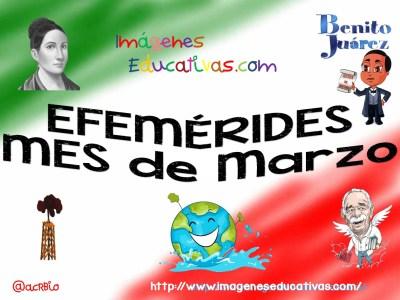 Efemérides de Marzo Bandera (1)