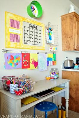 Escritorios y zonas de trabajo para niños (25)