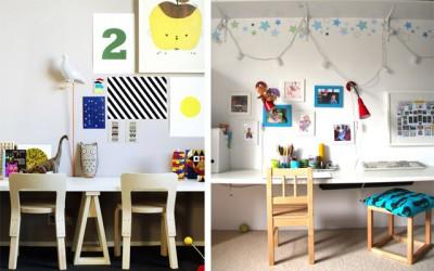 Escritorios y zonas de trabajo para niños (33)