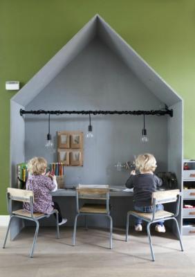 Escritorios y zonas de trabajo para niños (50)