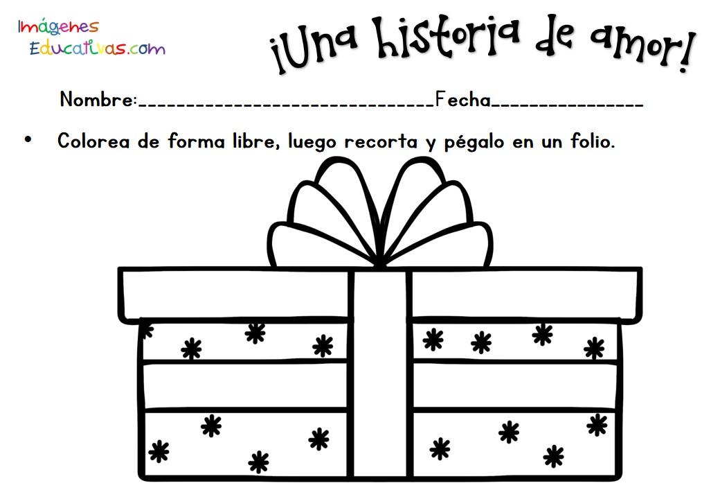 Fichas San Valentín 14 febrero (10) - Imagenes Educativas