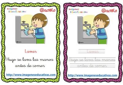 Lectoescritura verbos de acción (8)