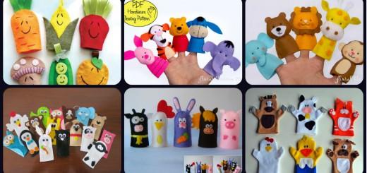 Marionetas de dedos Portada