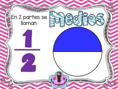 Memorama de Fracciones y sus nombres (10)