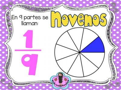 Memorama de Fracciones y sus nombres (3)
