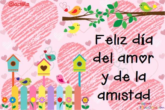 Tarjetas Para El Dia Del Amor Y De La Amistad 2 Imagenes Educativas
