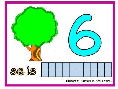 Aprendemos los números modelando plastilina (6)