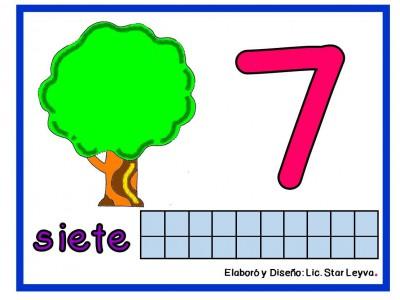 Aprendemos los números modelando plastilina (7)
