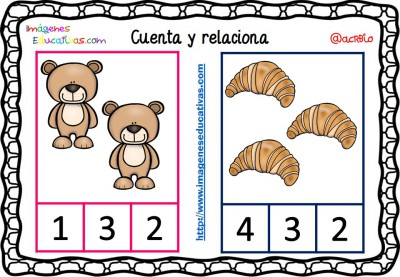 Fichas para aprender a contar (2)