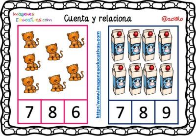 Fichas para aprender a contar (3)