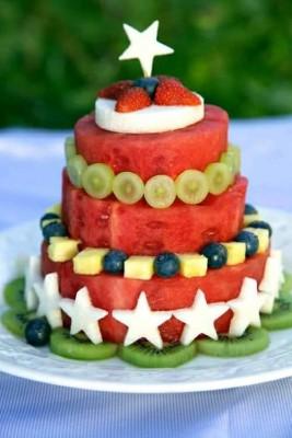 Fuentes y brochetas de frutas (9)