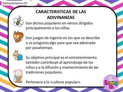 Las adivinanzas (3)
