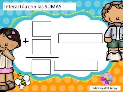 Los elementos de la suma y de la resta Color (4)