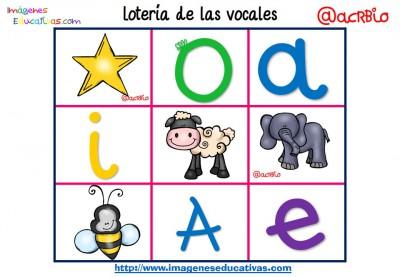 Lotería Bingo de las vocales (12)