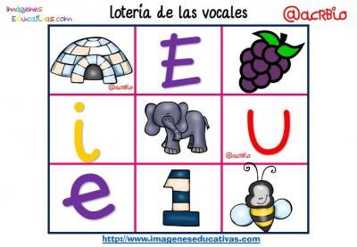 Lotería Bingo de las vocales (13)