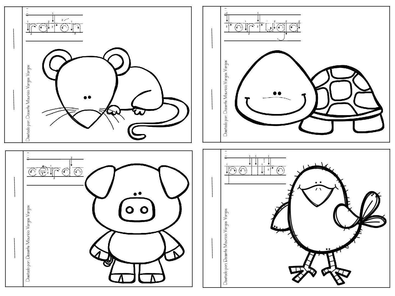 Mi Libro De Colorear De Animales Domesticos 3