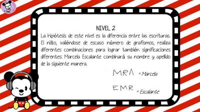 Niveles de lectura (3)