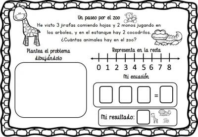 Problemas de razonamiento matemático en preescolar (3)