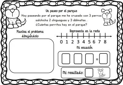 Problemas de razonamiento matemático en preescolar (4)