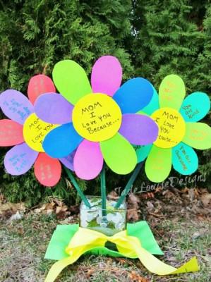 Regalos y manualidades dia de la madre Flores (18)