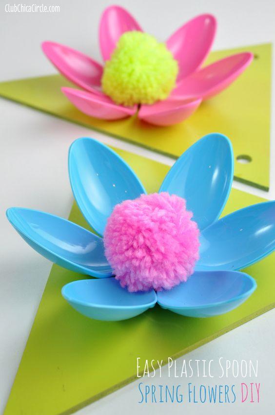 Regalos Y Manualidades Dia De La Madre Flores 9