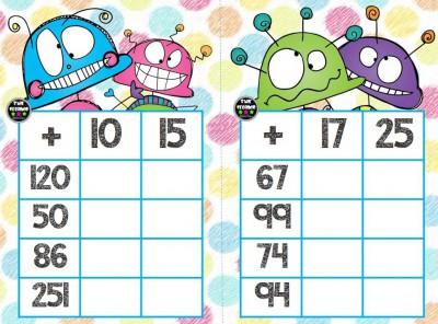 Súper bingos de sumas (11)
