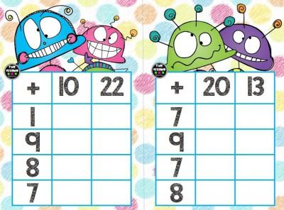 Súper bingos de sumas (3)