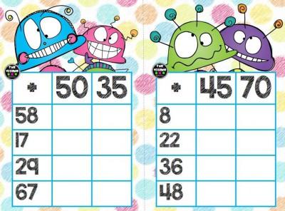 Súper bingos de sumas (8)