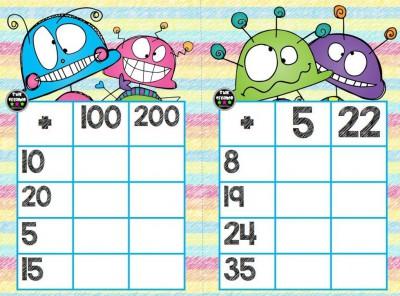 Súper bingos de sumas (9)