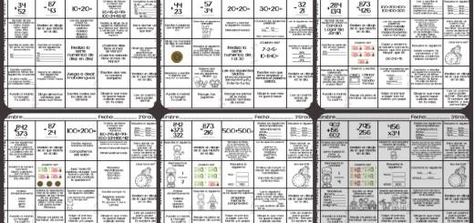 Semanario matemático diferentes grados, actividades de refuerzo PORTADA