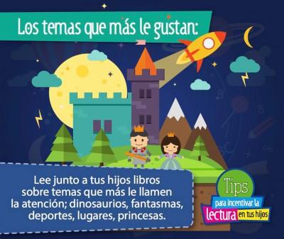 TIPS para incentivar la lectura en tus hijos e hijas (6)