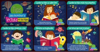 TIPS para incentivar la lectura en tus hijos e hijas PORTADA