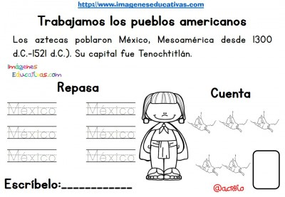 Tabajamos la lecto-escritura centro de interes los Aztecas (2)