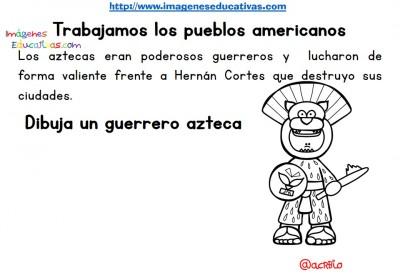 Tabajamos la lecto-escritura centro de interes los Aztecas (3)