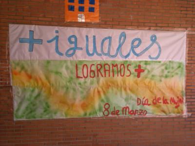 mural del día 8 de marzo Día Internacional de la Mujer (8)