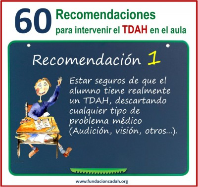 60 recomendaciones para intervenir el TDAH en el aula (1)