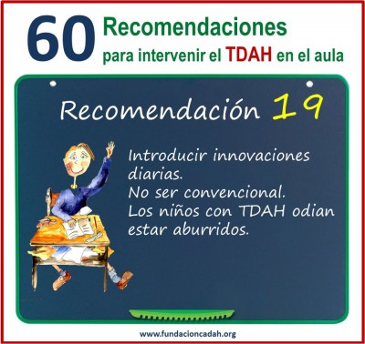 60 recomendaciones para intervenir el TDAH en el aula (19)