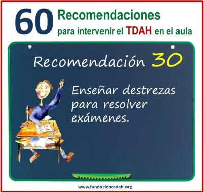 60 recomendaciones para intervenir el TDAH en el aula (30)