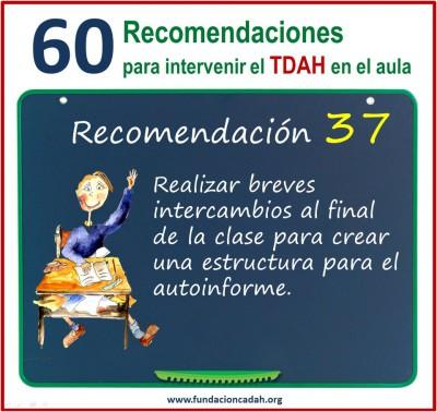 60 recomendaciones para intervenir el TDAH en el aula (37)