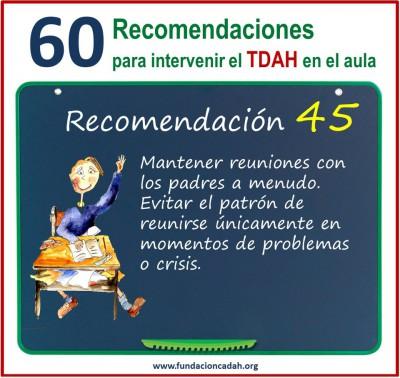 60 recomendaciones para intervenir el TDAH en el aula (45)