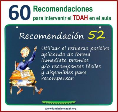 60 recomendaciones para intervenir el TDAH en el aula (52)