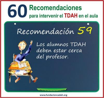 60 recomendaciones para intervenir el TDAH en el aula (59)