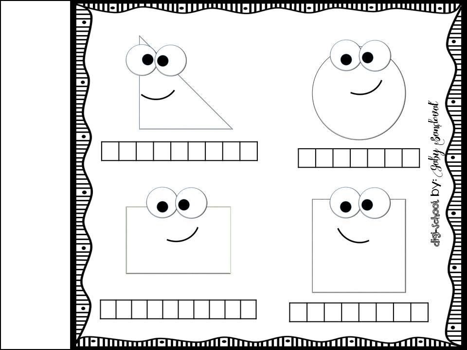 Figuras Para Colorear Para Niños De Preescolar: Mi Librito De Las Figuras (10)