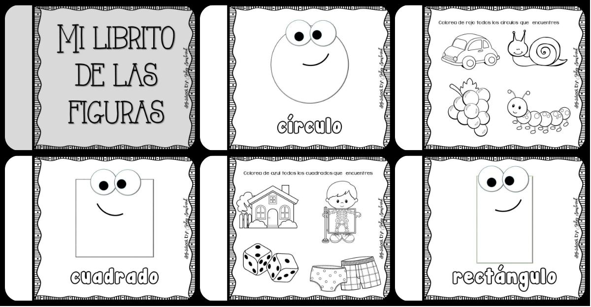 Mi Librito De Las Figuras Geometricas Imagenes Educativas